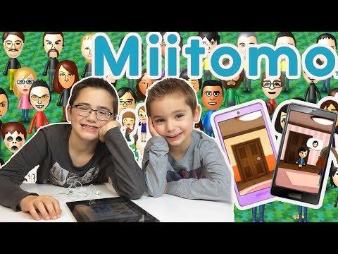 Premiers pas sur MIITOMO fr : on teste la première appli mobile de NINTENDO !