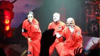 Slipknot Mayhem Festival 2012 intro / Sic live @ Shoreline Amphitheatre.[HD]