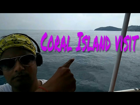 Visiting koh Larn(coral) Island by Boat