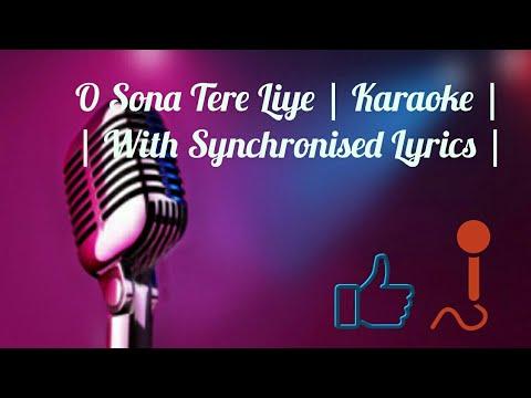 O Sona Tere Liye | Mom | Karaoke | AR Rahman | Sing Along |