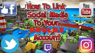 How To Link Social Media To Your Roblox Account