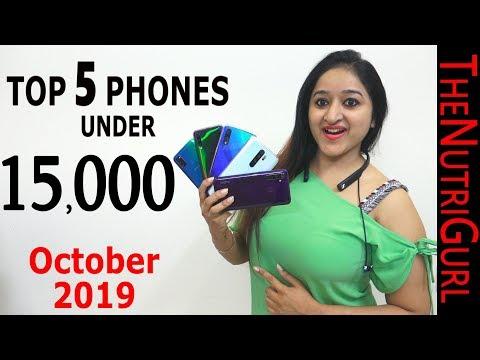 Top 5 Phones Under 15000 IN OCTOBER 2019