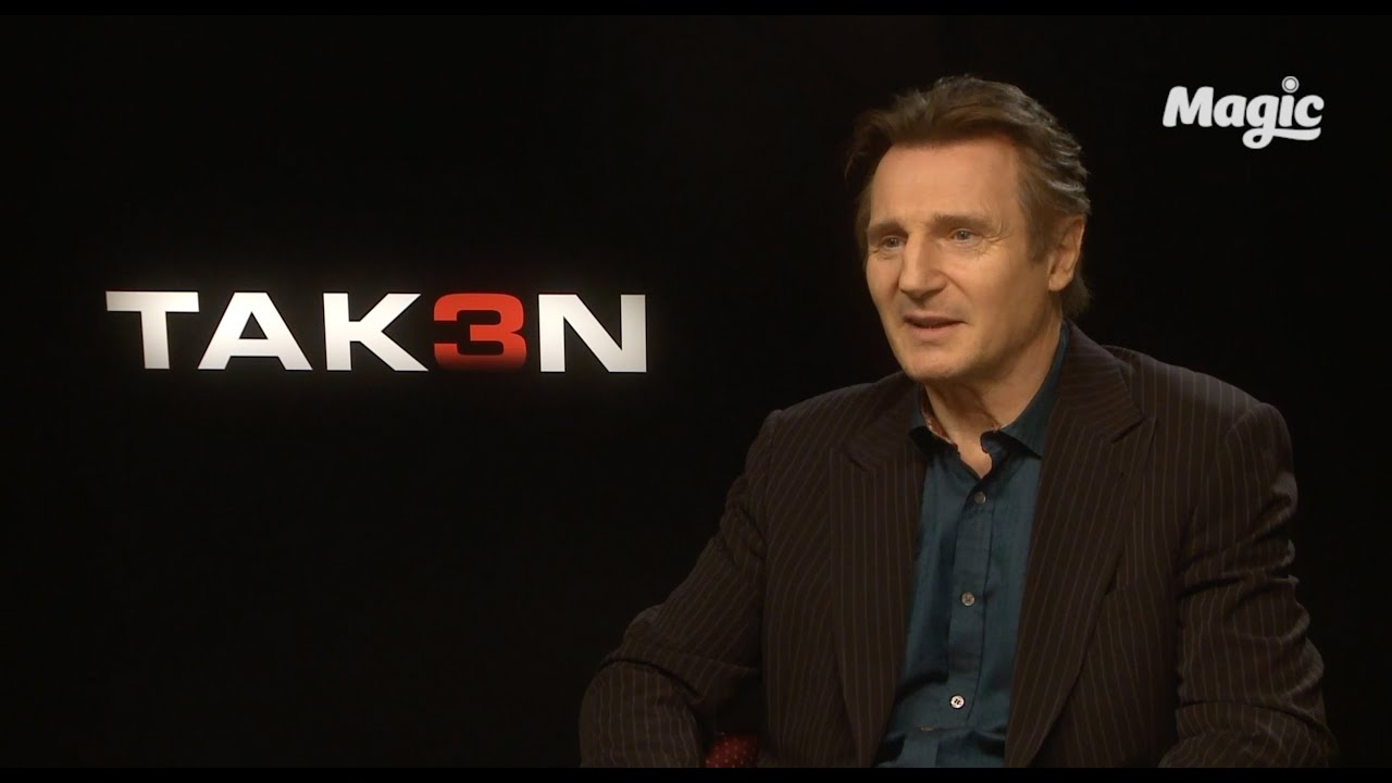 Liam neeson on having to leave answerphone messages youtube liam neeson on having to leave answerphone messages kristyandbryce Image collections