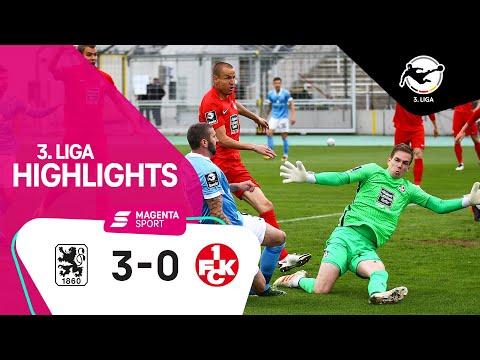 TSV 1860 München - 1. FC Kaiserslautern | 35. Spieltag, 2020/2021 | MAGENTA SPORT
