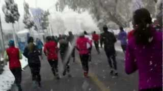 Luzern Half Marathon 2012 - 20 km Mark