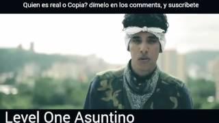 Canserbero vs Asuntino - es asuntino una copia de canserbero? Jeremías vs level One. 2017 hip hop