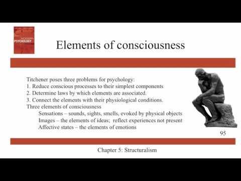 Structuralism - Ch5 - History of Modern Psychology - Schultz & Schultz