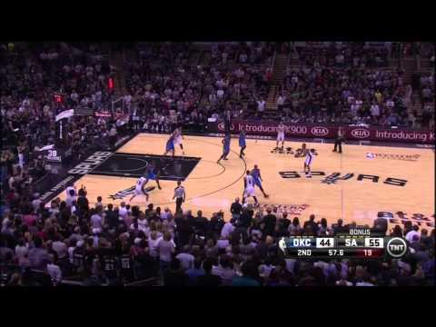 Thunder vs Spurs Game 2: Westbrook & Durant Eviscerated by Parker And Duncan