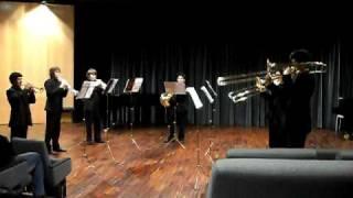 Brass Septet  - Feuerwerksmusik Ouverture - G. F. Haendel