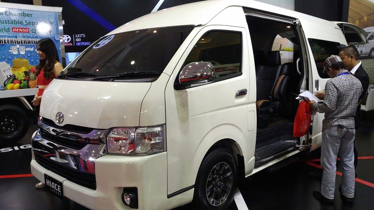 Kekurangan Harga Mobil Toyota Hiace Top Model Tahun Ini