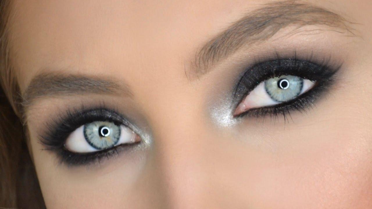 Popolare Trucco Smokey Eyes Nero | Makeup Tutorial - YouTube AI73