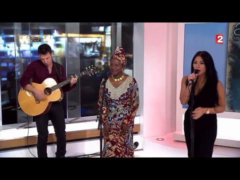 Anggun & Angélique Kidjo - Née Quelque Part (Live on France 2 - 13 Heures) 16/12/15