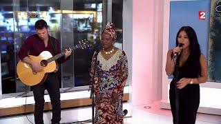 Anggun & Angélique Kidjo - Née Quelque Part (Live on France 2 - 13 Heures) 16 / 12 / 15