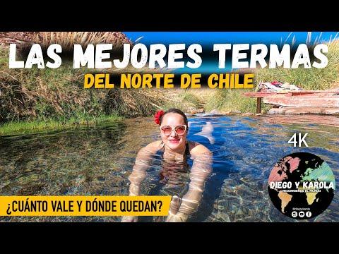 TERMAS DE PURITAMA, DE LO MEJOR EN SAN PEDRO DE ATACAMA | CHILE | 4K |