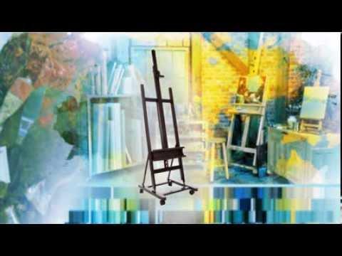Jerry's Art Report: SoHo Urban Artist H-Frame Studio Easel