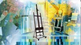 Jerry's Art Report: Soho Urban Artist H-frame Studio Easel