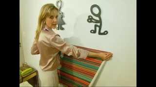 Veja o passo a passo para fazer uma cabeceira com tecido adesivado