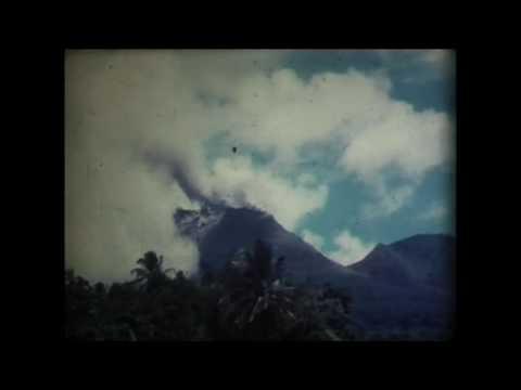 Éruption De La Soufrière De La Guadeloupe 1976