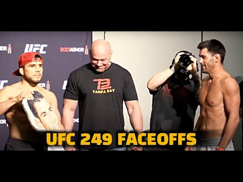 UFC 249: Tony Ferguson and Justin Gaethje face off in the first ...