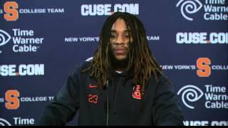 Prince-Tyson Gulley vs Duke Post Game - Syracuse Football