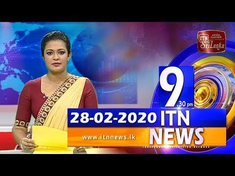 ITN News 2020-02-28   09.30 PM