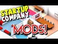 BEST NEW MODS! - Startup Company UPDATE | Steam Workshop