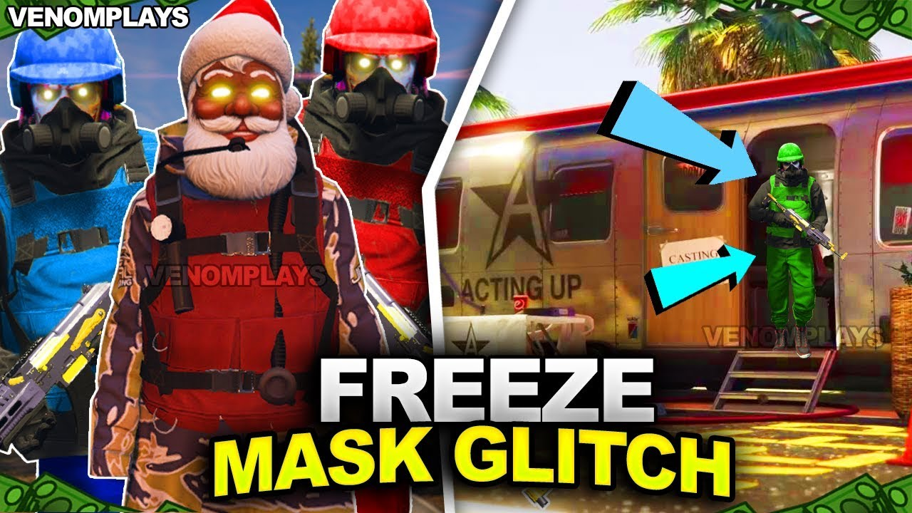 Gta 5 Online All Christmas Masks.Pc Xbox One Ps4 Gta 5 Solo Dm Glitch Freeze Christmas