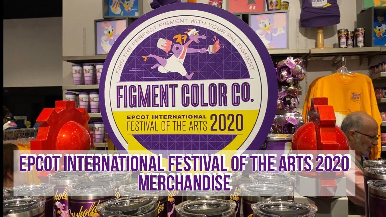 Epcot International Festival Of The Arts 2020 Merchandise Walt Disney World Youtube