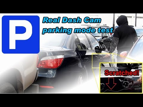 Dash Cam Parking Mode Presentation [Motion Detection Vs Low-Bitrate Vs Time-Lapse]