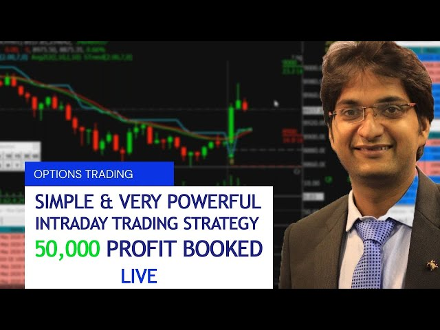 SIMPLE YET POWERFUL INTRADAY TRADING STRATEGY   50,000 PROFIT BOOKED   HINDI VIDEO