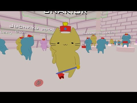 VRCHAT cat march band  ASCENDED UGANDAN WARRIRORS