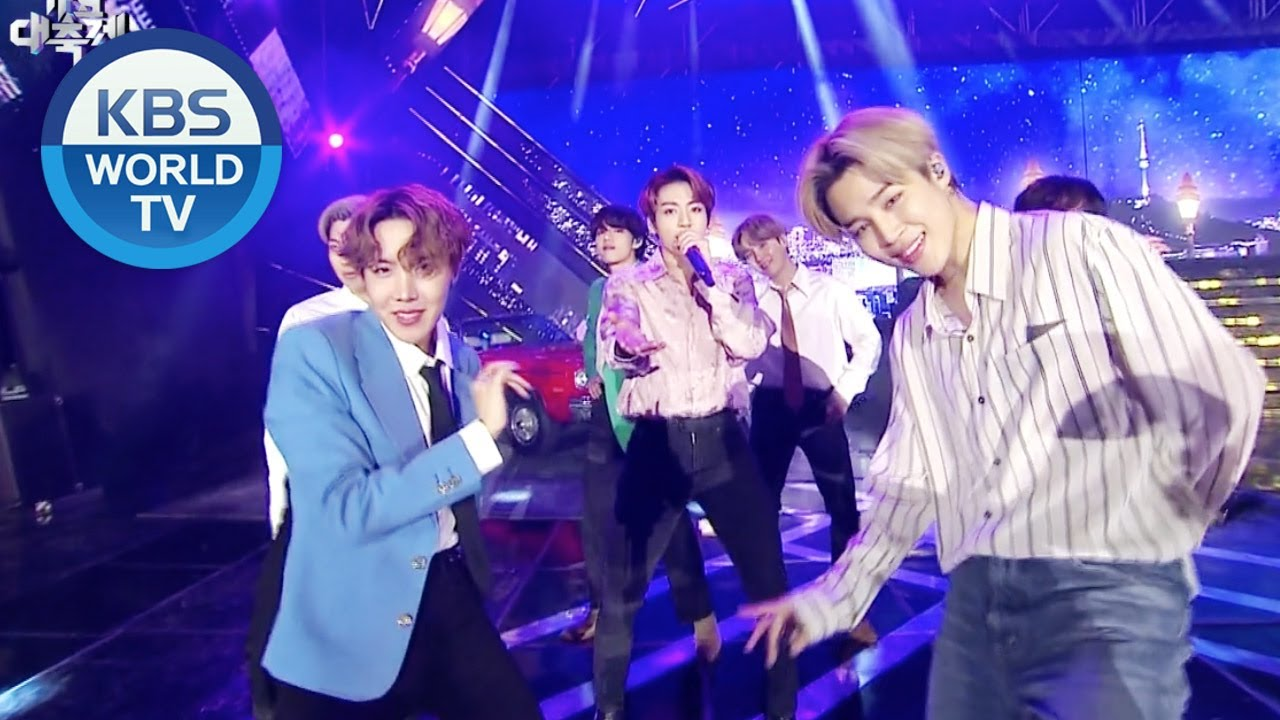 BTS (방탄소년단) - Boy With Luv (작은 것들을 위한 시)  [2019 KBS Song Festival / 2019.12.27]