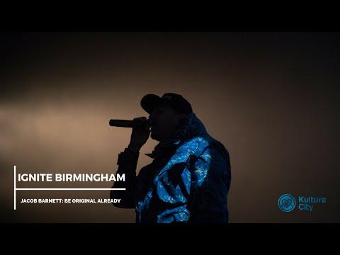 Ignite Birmingham: Jacob Barnett (Be Original Already)