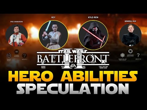 EA Star Wars Battlefront 2 Hero Abilities Speculation