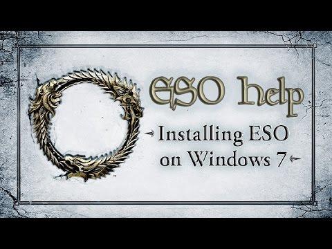 Elder Scrolls Online Windows 7