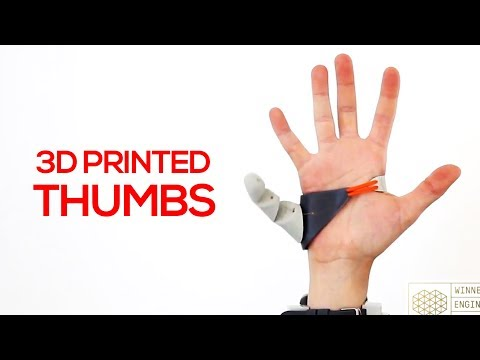 3D Printing Thumbs, Hearts & Self-Healing Cellphone Screens - 3D Nuggets