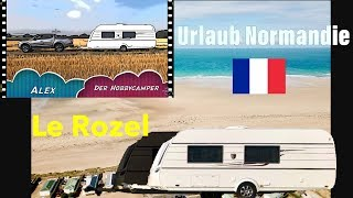 Camping in der Normandie Le Rozel Frankreich