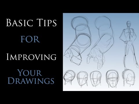Basic Tips for Improving Your Drawings - YouTube