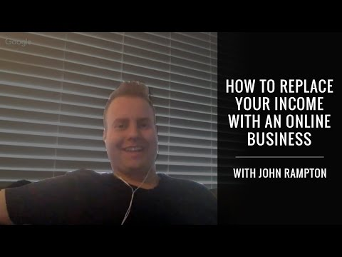 How To Replace Your Income With An Online Business With John Rampton