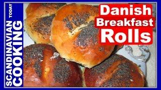 Rundstykker - How To Make Danish Breakfast Rolls