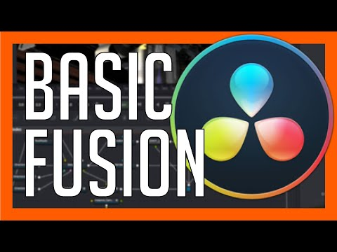 Basic Fusion Tutorial for Beginners - Blackmagic DaVinci Resolve Training