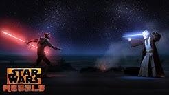 Darth Maul vs Obi-Wan   Star Wars Rebels   Disney XD