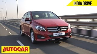 2015 Mercedes B 200 CDI | India Drive Video Review | Autocar India(The styling may not have taken a huge leap forward in the new Mercedes-Benz B-class facelift, but there are significant changes inside the cabin and under the ..., 2015-03-13T11:18:56.000Z)
