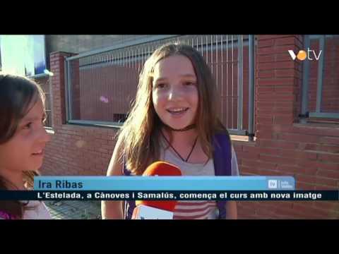 VOTV - L'Estelada, a Cànoves i Samalús, comença el curs amb nova imatge