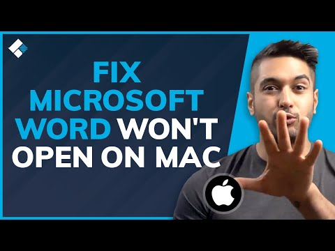 3 Solutions To Fix Microsoft Word Won't Open On Mac