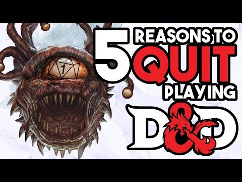 5 Reasons NOT to Play D&D