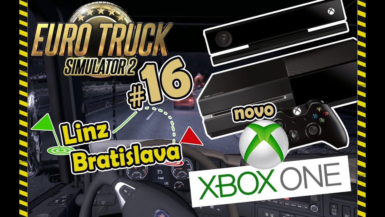 euro truck simulator 2 16 xbox one vs ps4 youtube. Black Bedroom Furniture Sets. Home Design Ideas