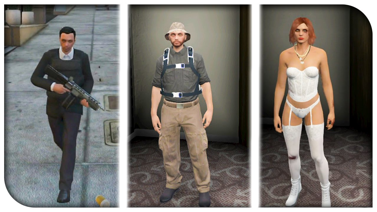 GTA 5 Online - FASHION FRIDAY! (Captain Price Makarov u0026 The Prostitute) [GTA V Cool Outifts ...