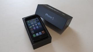 iPhone 5 Unboxing & First Impressions