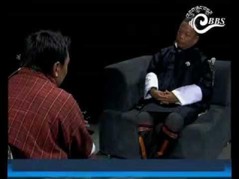 Dawai Kudroen with Hon'ble Speaker Jigme Tshultim